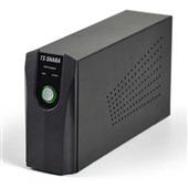 Nobreak UPS Compact 600VA Full Range Preto 374 1 UN TS Shara