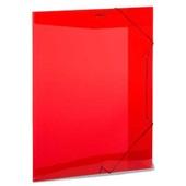 Pasta Aba Elástico Ofício Vermelha 335x235mm 1 UN Plascony