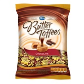 Bala Butter Toffees Chocolate 100g PT 1 UN Arcor