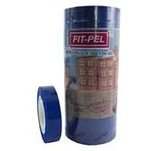 Fita Adesiva Azul 12mm x 33m 1 UN Fit Pel