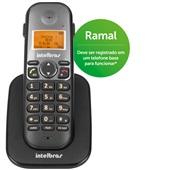 Ramal Telefônico sem Fio com Identificador de Chamadas até 7 Ramais Viva Voz Modo Babá TS 5121 Intelbras