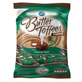 Bala Butter Toffees Chokko Menta 600g PT 1 UN Arcor