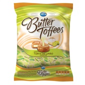Bala Butter Toffees Torta de Limão 600g PT 1 UN Arcor