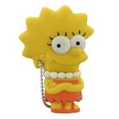 Pen Drive Os Simpsons Lisa 8GB USB 2.0 PD072 1 UN Multilaser