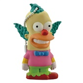 Pen Drive Os Simpsons Krusty 8GB USB 2.0 PD074 1 UN Multilaser