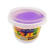 Massa de Modelar Soft Violeta 150g 1 UN Acrilex