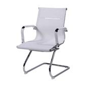 Cadeira Fixa Charles Eames em Tela Mesh Base S Branca OR Design