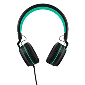 Headphone Over Ear Wired Fun P2 Preto e Verde PH159 1 UN Pulse
