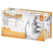 Luva de Látex para Procedimento com Pó G CX 100 UN Talge