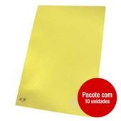 Pasta em L Ofício Amarelo 230x335mm PT 10 UN ACP
