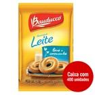 Biscoito Amanteigado Leite 11,5g Cada Sachê CX 400 UN Bauducco