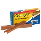 Grampo Cobreado 26/6 CX 5000 UN Grampline
