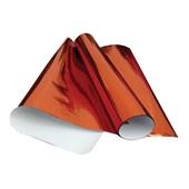 Papel Laminado Vermelho 48x60cm 40 FL VMP