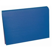 Papel Microondulado Azul 50x80cm 10 FL VMP