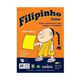 Papel Sulfite Filipinho Color Amarelo A4 85g 210x297mm PT 45 FL Filiperson