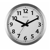 Relógio de Parede Clássico Redondo Alumínio 30,5x30,5x4cm 1 UN Herweg