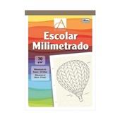 Caderno Pedagógico Milimetrado A4 Capa Dura 50 FL Academie 1 UN Tilibra