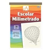 Caderno Pedagógico Milimetrado A3 Capa Dura 50 FL Academie 1 UN Tilibra