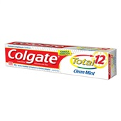 Creme Dental Total 12 Clean Mint 90g 1 UN Colgate