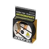 Fita Antiderrapante Preta 50mm x 5m 1 UN Adelbras