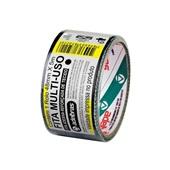 Fita Adesiva Multiuso Silver Tape Preta 48mm x 5m 1 UN Adelbras