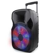 Caixa de Som Amplificadora Trolley Multifuncional Bluetooth 150W RMS Preto SP219 Multilaser