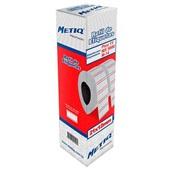 Refil Etiquetadora de Preços 21x12mm Branco CX 10 UN Metiq