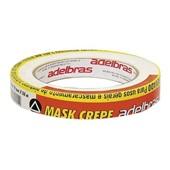 Fita Crepe Mask Branca 18mm x 50m 1 UN Adelbras