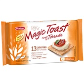 Torrada Magic Toast Integral 150g PT 6 UN 25g cada Marilan