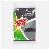 Esponja para Limpeza Profunda Extrema 1 UN Scotch Brite