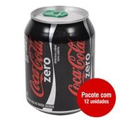 Refrigerante Coca Cola Zero 220ml Lata 12 UN