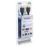 Cabo HDMI 1.4 1,8m Preto 46RCHDMIHDMI 1 UN Elgin