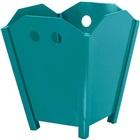 Cesto de Lixo sem Tampa 10L Duratex Azul 1 UN Souza