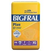 Fralda Geriátrica Descartável Plus XG PT 7 UN Bigfral