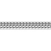 Placa de Alumínio Etiquetas de Voltagem 110V Sinalize