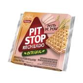 Biscoito Pit Stop Integral Peito de Peru PT 105,6g 4 Sachês Marilan