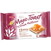 Torrada Magic Toast Multicereais 150g PT 6 UN 25g cada Marilan