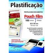 Plástico para Plastificação 0,05 Título de Eleitor 66x99mm PT 100 UN Mares