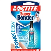 Cola Super Bonder Gel Power Easy Loctite 3g 1 UN Henkel