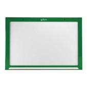 Quadro Branco Não Magnético Moldura Madeira Verde 60x40cm 1 UN Souza