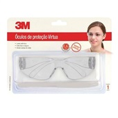 Óculos de Segurança Virtua com AR Incolor PT 1 UN 3M
