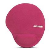 Mouse Pad Ergonômico com Apoio em Gel Rosa 605495 1 UN Maxprint