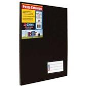 Pasta Catálogo Ofício com 25 Envelopes Preto 247x325mm 1 UN Chies