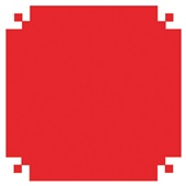 Papel Seda Vermelho 48x60cm 100 FL VMP