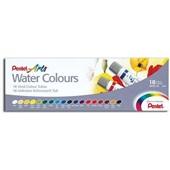 Tinta Aquarela Arts Water Colours 18 Cores Pentel