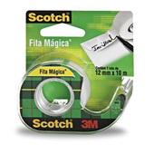 Fita Adesiva Mágica Scotch com Dispenser 12mm x 10m 1 UN 3M