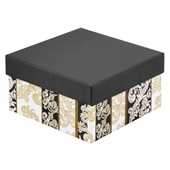 Caixa Rígida Quadrada Arabesco 16x16x8,5cm 1 UN Paloni