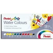 Tinta Aquarela Arts Water Colours 12 Cores Pentel