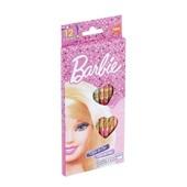 Lápis de Cor Sextavado Barbie 12 Cores Tris