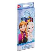 Lápis de Cor Sextavado Frozen 12 Cores Tris